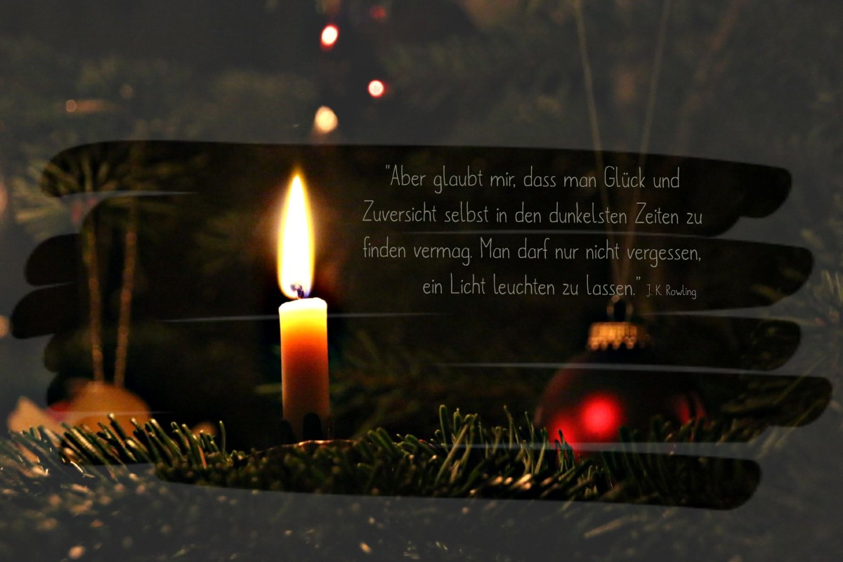 Windlichter basteln | Adventskalender Türchen 1